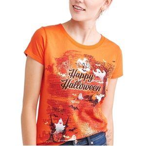Celebrate Orange Halloween T-shirt